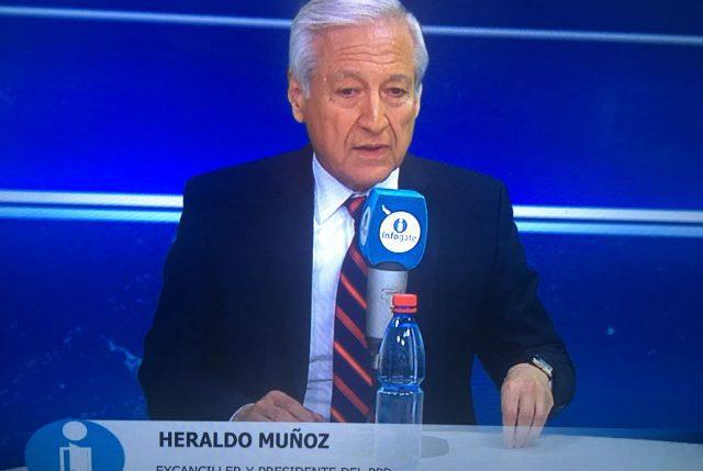 Heraldo Muñoz se ríe de la vocería de Cecilia Pérez a través de una caricatura en Twitter