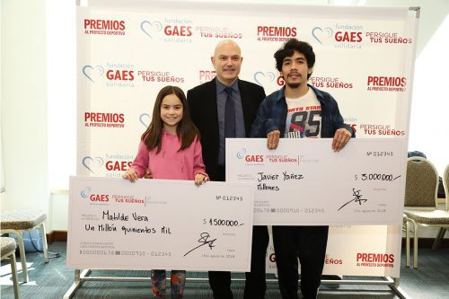 GAES premia la inclusión y el esfuerzo
