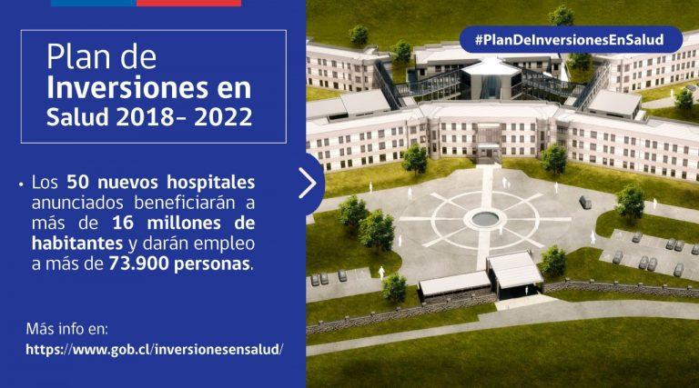 Presidente compromete plan de cirugía mayor en inversiones de salud
