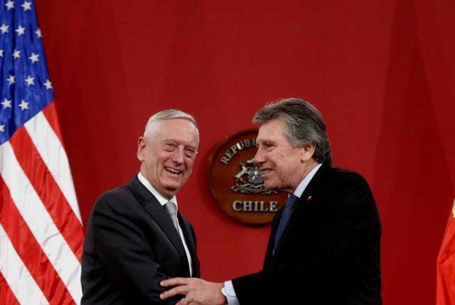EEUU y Chile firman acuerdo de cooperación en Ciberdefensa
