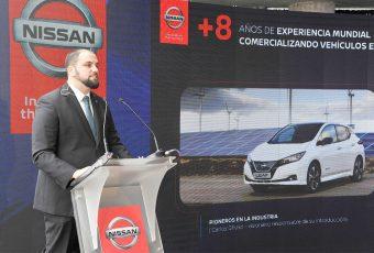 Nissan ratifica su compromiso con el desarrollo de la movilidad eléctrica en Chile