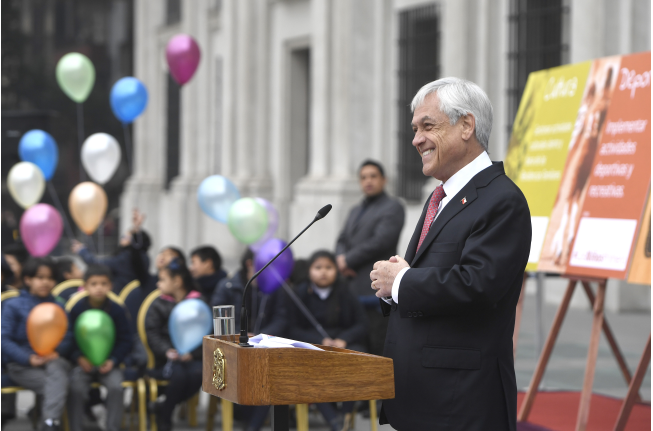 Adimark: Desaprobación del gobierno de Piñera aumenta un punto en julio