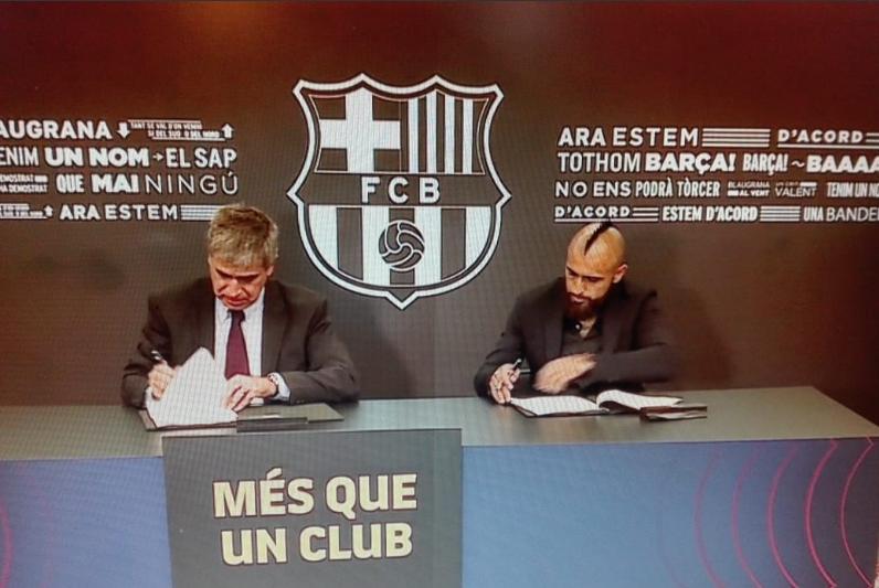 """Arturo Vidal en el Barcelona: """"Quiero ganar títulos, que es lo más importante en el fútbol"""""""