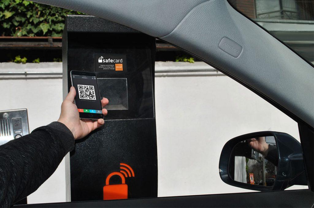 Innovador sistema de parking con el teléfono móvil