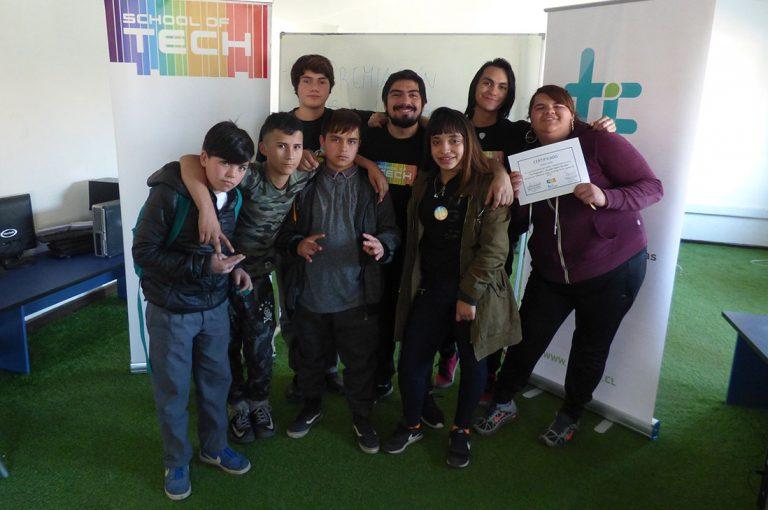 Niños y adolescentes de alta vulnerabilidad social aprendieron a programar