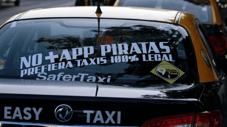 """Intendenta para en seco a dirigente de taxistas que advirtió la ley del """"ojo por ojo"""""""