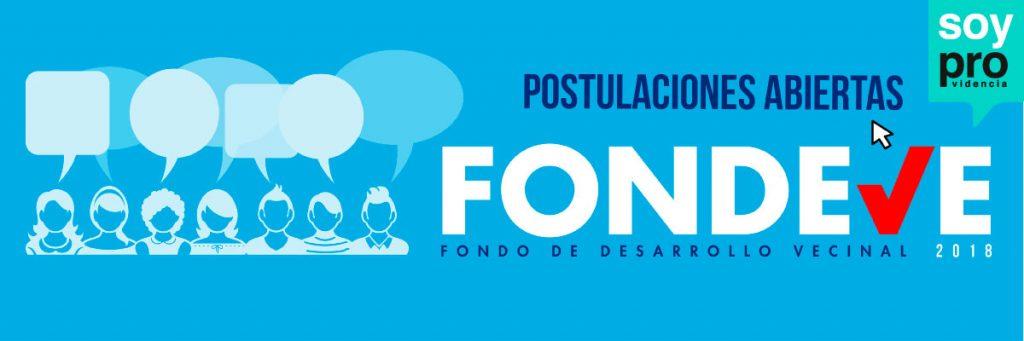 Providencia abrió postulaciones para FONDEVE 2018: Hay $829 millones para proyectos
