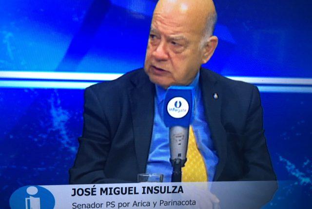 José Miguel Insulza, senador y ex canciller al comentar rol de Chile en crisis de Venezuela