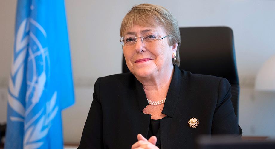 """Bachelet fuerte y claro a Maduro: """"El Gobierno venezolano debe obligar a los cuerpos de seguridad a dejar de emplear el uso excesivo de la fuerza"""""""