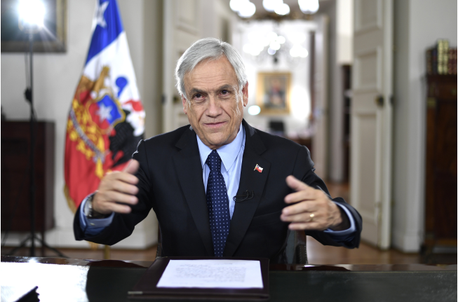 Presidente Piñera presenta Presupuesto 2019: US$ 73 mil millones