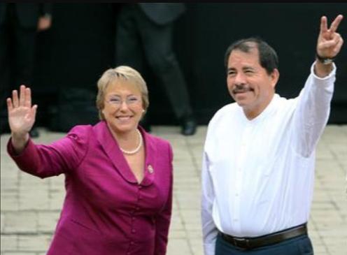 Bachelet enfrenta su primer desafío a cargo de DD.HH. de la ONU con Daniel Ortega