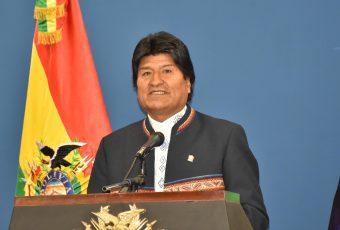 Evo dice que una nueva era de paz e integración entre Bolivia y Chile es posible luego de zanjar tema mar