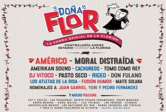 Este sábado comienza la Fonda Doña Flor!