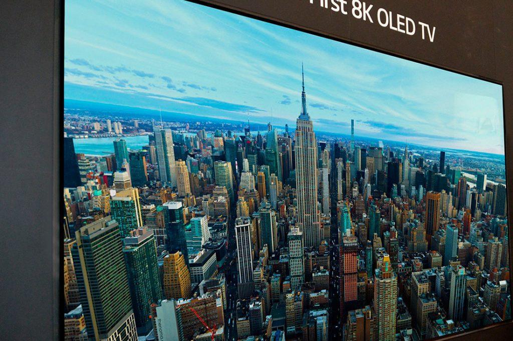Este es el primer televisor 8K OLED del mercado
