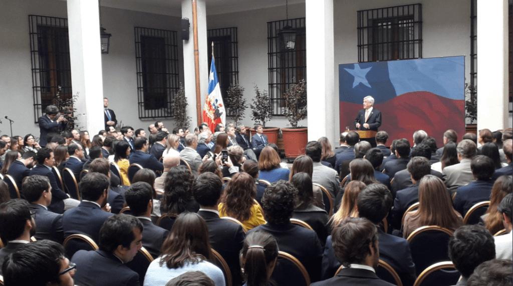La Moneda conmemora los 30 años del plebiscito sin la directiva de la UDI