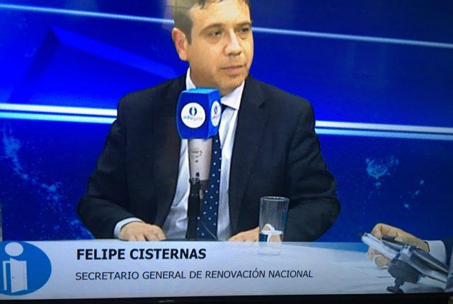 """Secretario General de RN: """"Cuando estaba la Concertación había una oposición constructiva"""""""