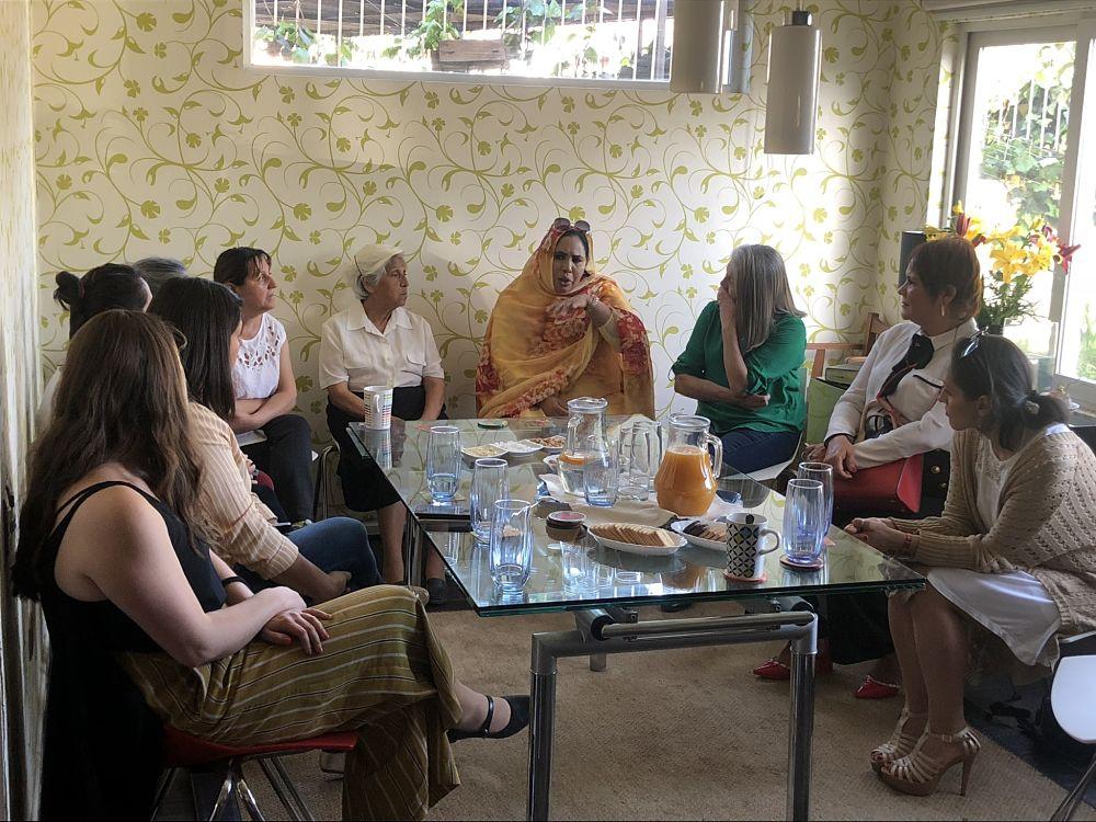 """Fundación """"Amigos de Jesús"""" recibió delegación de mujeres marroquíes"""
