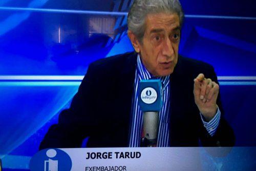 Tarud apunta a problemas políticos en Argentina como causantes de conflicto limítrofe en el sur
