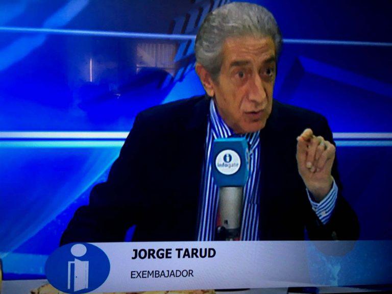 Tarud apunta que acusaciones de Bolivia responden al mal momento que atraviesa Luis Arce