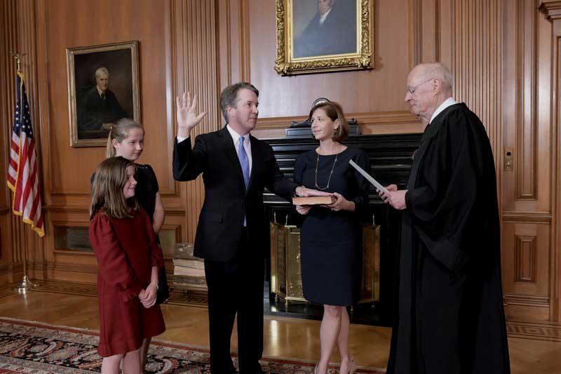 Kavanaugh logra apoyo del Senado y entra a la Corte Suprema de EEUU