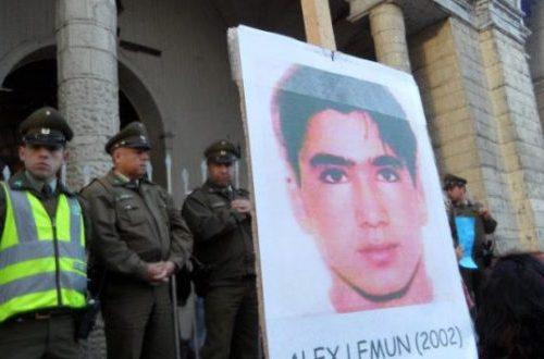 Suprema rechaza recurso de amparo a carabinero que mató a Álex Lemún