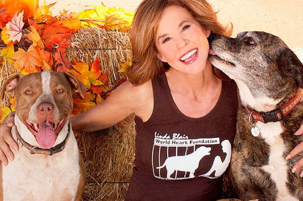"""Linda Blair, la protagonista de """"El Exorcista"""" se dedica hoy a rescatar animales"""