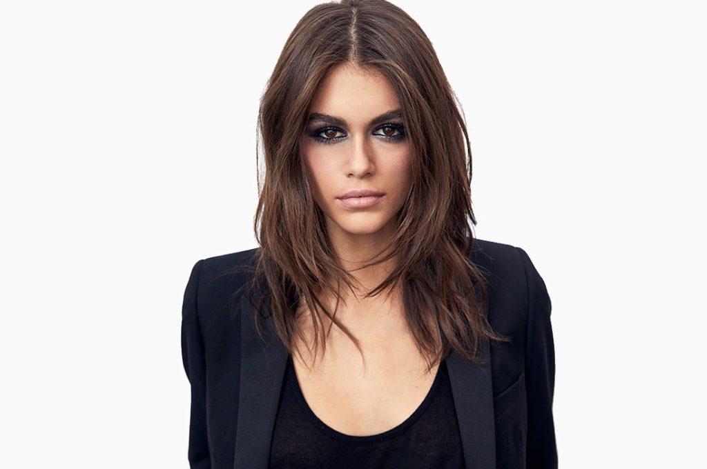 Kaia Gerber es el nuevo rostro de YSL Beauty Make Up