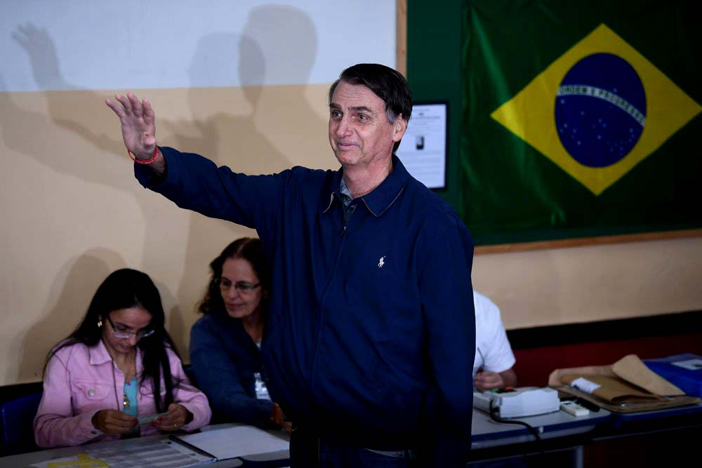 Brasil: Bolsonaro pasa a segunda vuelta y elección será el 28 de octubre