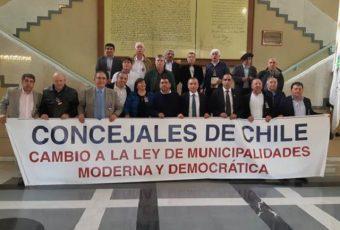 En el Congreso concejales de la ACHM piden  cambios a la Ley de Municipalidades: Más atribuciones