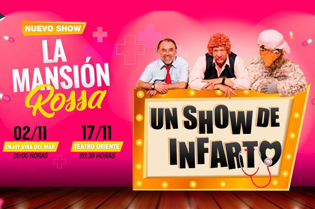 """La Mansión Rossa vuelve renovada a los escenarios con un """"show de infarto"""""""
