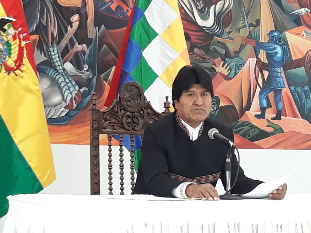 Morales acusa contradicciones en el fallo de la CIJ y anuncia carta de protesta a la ONU