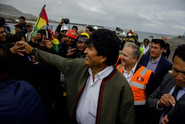 """En Ilo, Perú Evo inicia """"Guerra Comercial"""" con Chile y anuncia """"agenda de la época de la Confederación Perú Boliviana"""""""