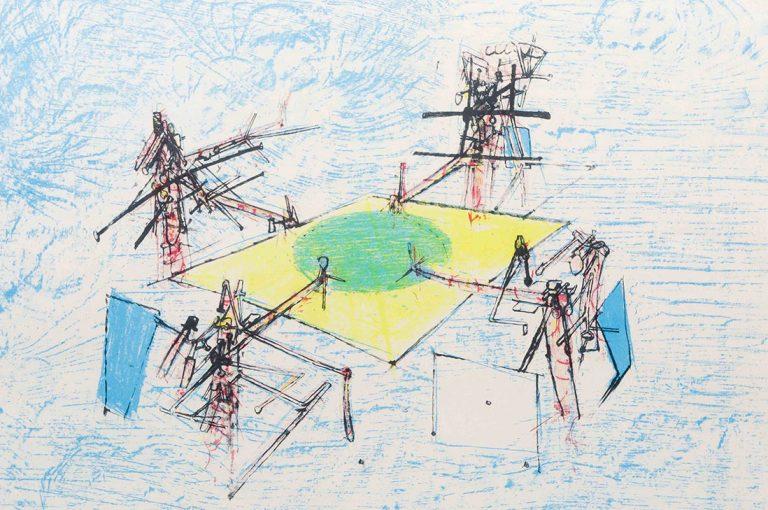 Inédita colección de grabados de Matta llega a MAC Parque Forestal