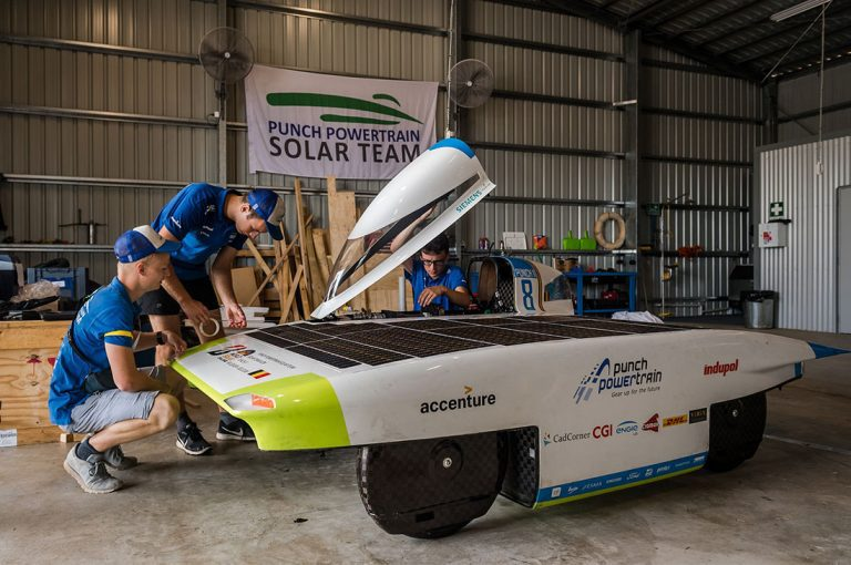 Desde Bélgica llega vehículo solar para Carrera Solar Atacama