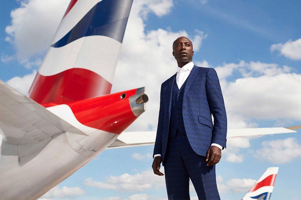 Diseñador británico Ozwald Boateng creará los nuevos uniformes de British Airways