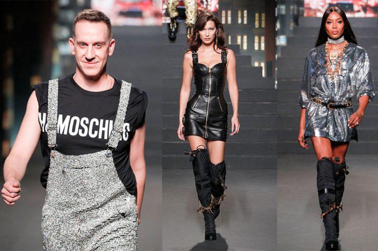 Desfile MOSCHINO [tv] H&M: celebridades en la primera fila, supermodelos y sorpresas