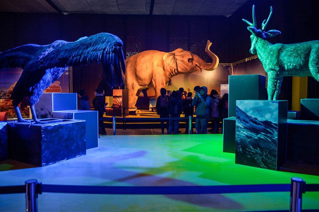 Dinosaurios, dragones, insectos gigantes y animales salvajes animatronics llegan a La Serena