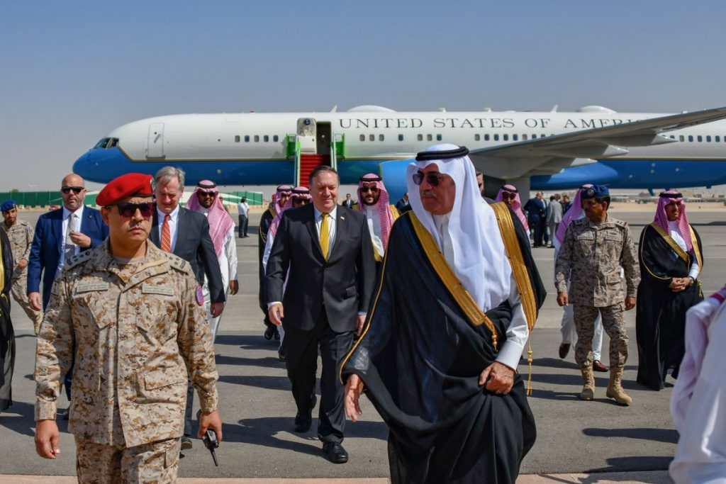 Secretario de Estado de EEUU llega a Arabia Saudí por crisis de periodista desaparecido