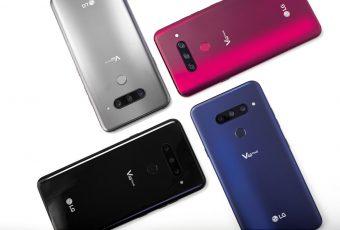 Nuevo smartphone con cinco cámaras