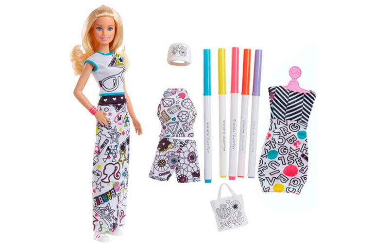 Barbie inspira la creatividad de las niñas