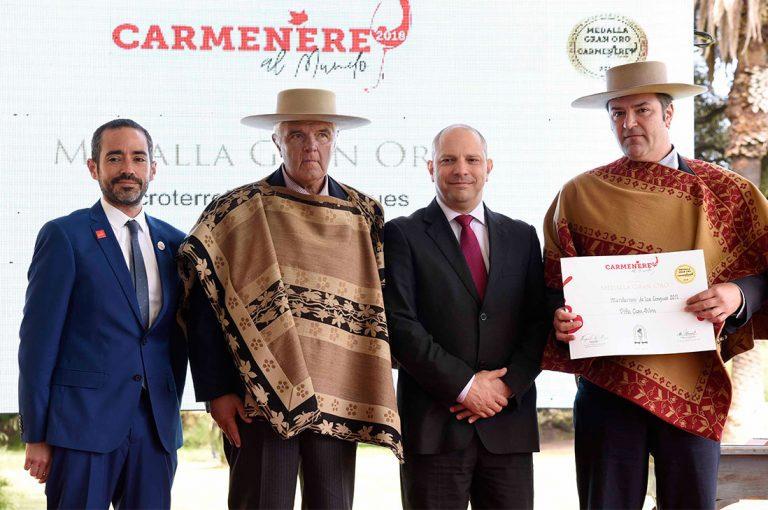 Casa Silva se llevó el gran trofeo al mejor Carmenère de Chile