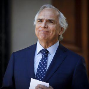 Andrés Chadwick, ministro del Interior y Vpdte. de la República