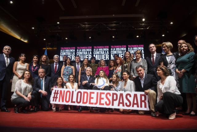 #NoLoDejesPasar Lanzan campaña de tolerancia cero a la violencia contra la mujer
