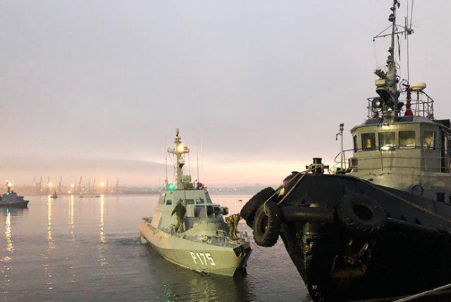 Conflicto en Estrecho de Kerch: Ucrania decreta Ley Marcial y Rusia convoca a Consejo de Seguridad ONU