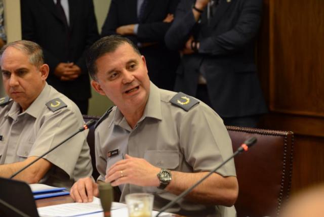 General Martínez insiste en persecución penal por filtración de audio y acusa a oficial de faltar al honor militar