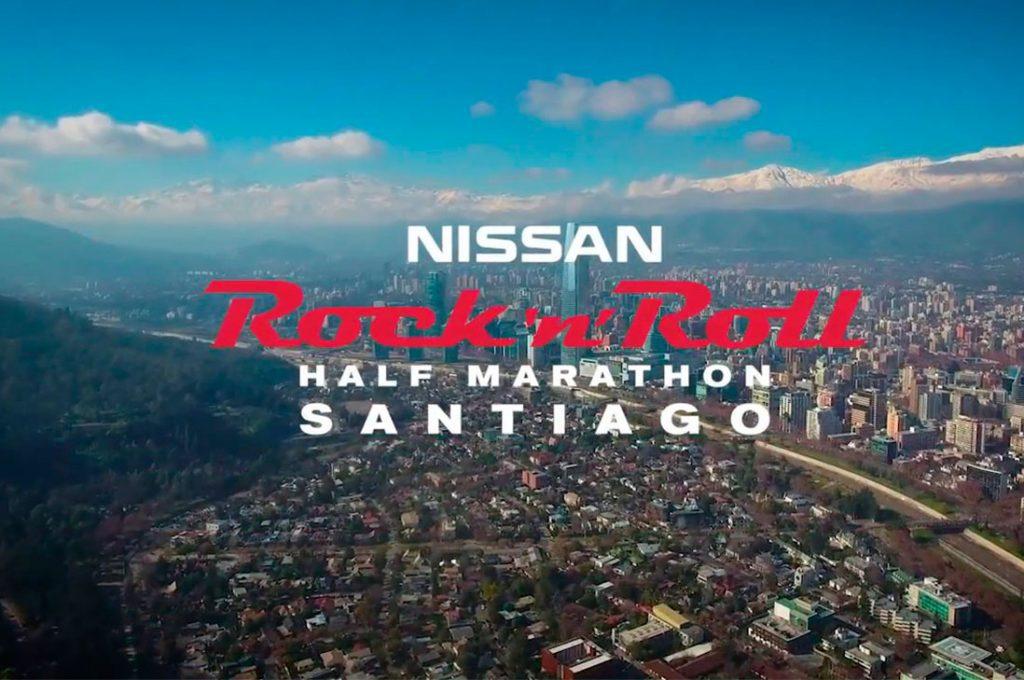 Nissan trae por primera vez a Chile la Rock 'n' Roll Half Marathon