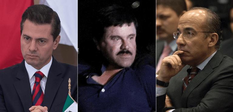 """Abogado del """"Chapo"""" dice que el Cártel de Sinaloa dio sobornos a Peña Nieto y Calderón"""