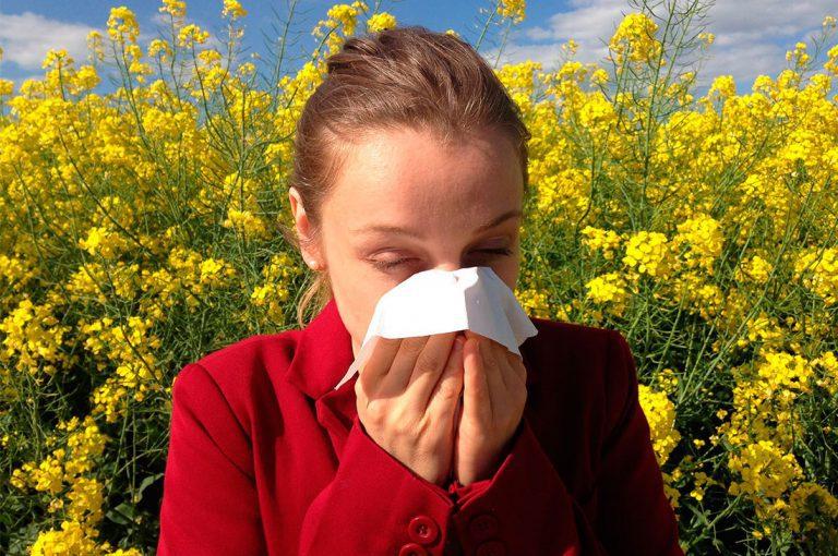 ¿Sufres de alergia? Consejos para hacerle frente