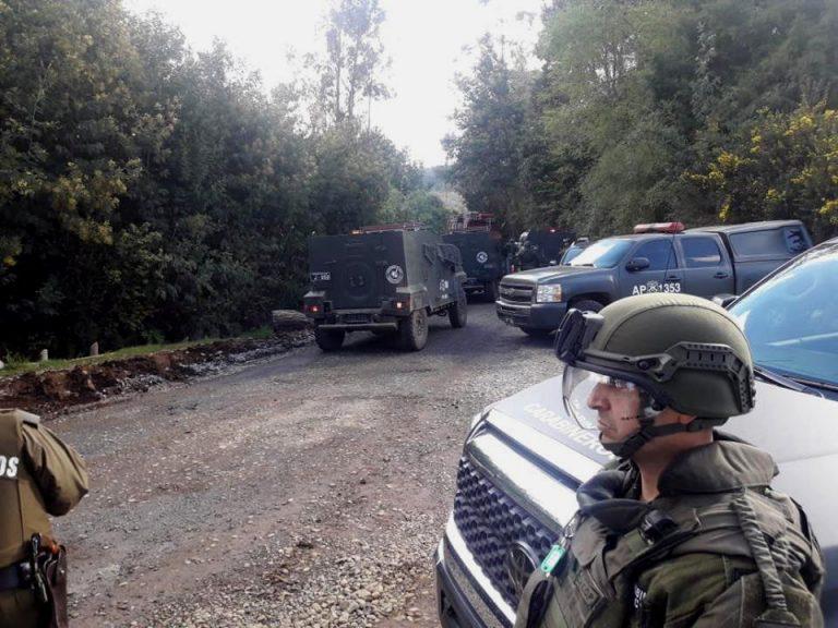 Comunero mapuche muere tras recibir disparo en la cabeza en incidentes con Carabineros