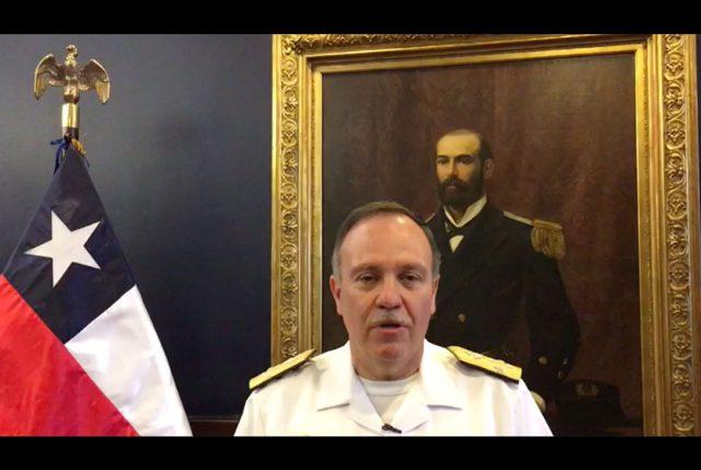 Comandante en jefe de la Armada invita a la Revista Naval